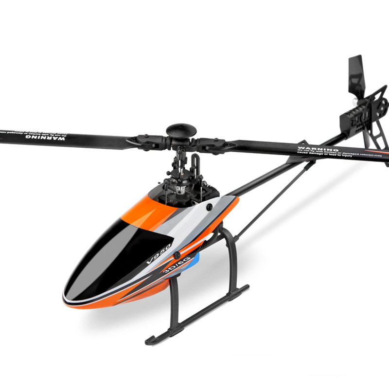 Weili V950 Six-way Joint Remote Control Helicopter Stand-up Non-Aileron Airplane Brushless Medium Unmanned Aerial Vehicle Model