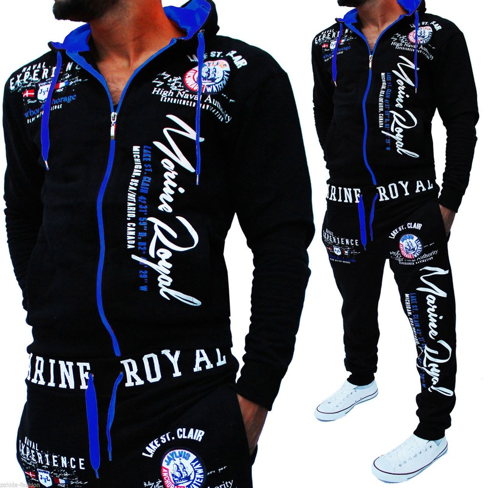 ZOGAA 2019 Brand Mens Sweat Suits Men Sportswear 2 Piece Outfits For Men Casual Letter Print Men Track Suit Set Clothing
