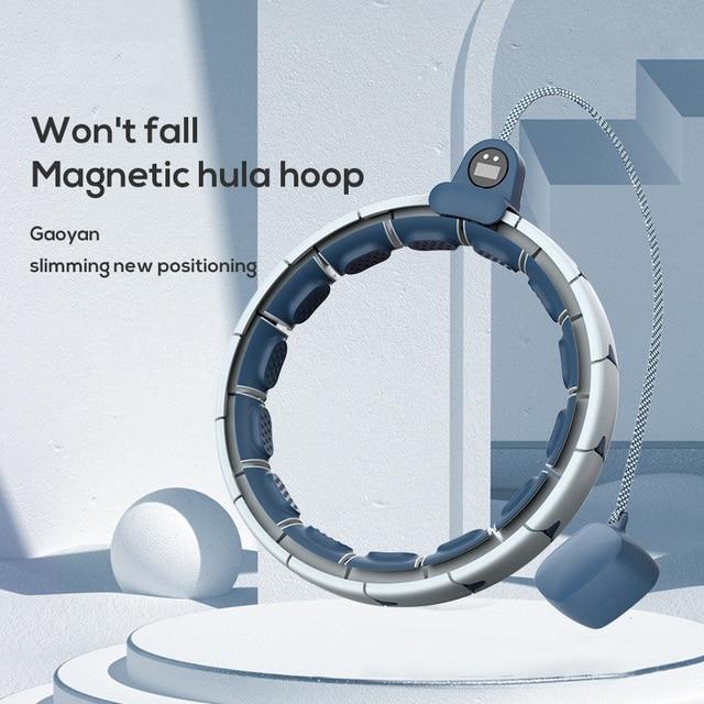Magnetic Smart Hoola Hoop Weighted Adjustable Easy Hoops Waist Trainer Slimming Aros Gym Home Fitness Equipment Sport Hoops 4