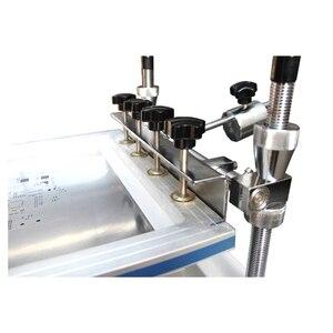 Image 2 - 表面実装エレクトロニクス YX3040 デスクトップ自動シルクスクリーン印刷機半自動シルクスクリーン印刷 pnp 機システム