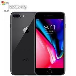 Оригинальный разблокированный мобильный телефон Apple iPhone 8 Plus, 64/256 Гб ПЗУ, 5,5-дюймовый экран, камера 12 МП, сканер отпечатка пальца, шестиядерны...