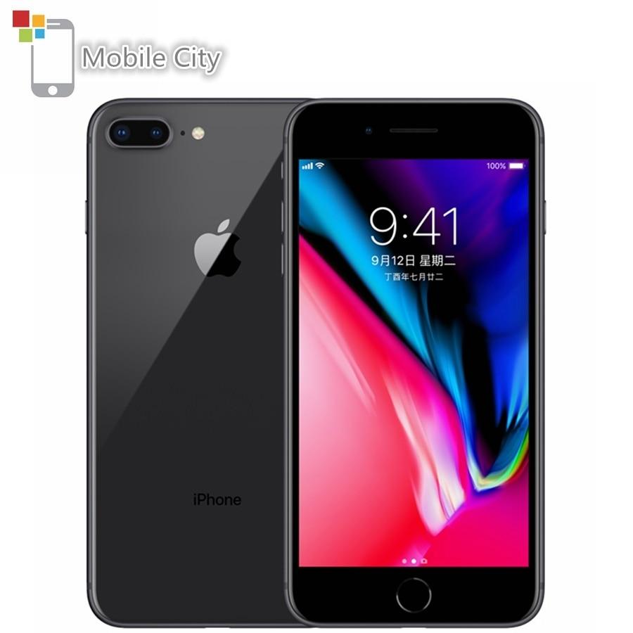 Original Unlocked Apple iPhone 8 Plus Mobile Phone 64/256GB ROM 5.5 inch 12MP Camera Fingerprint Hexa-core iOS 4G LTE Smartphone