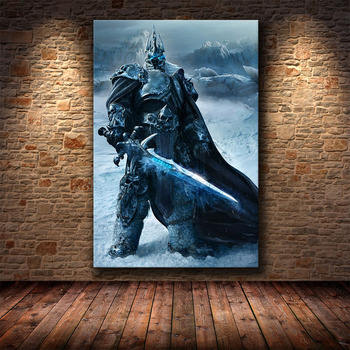 The Poster Decoration Painting of World of Warcraft 8.0 Map on HD Canvas Canvas Painting Wall Art Canvas Cuadros Decor 1
