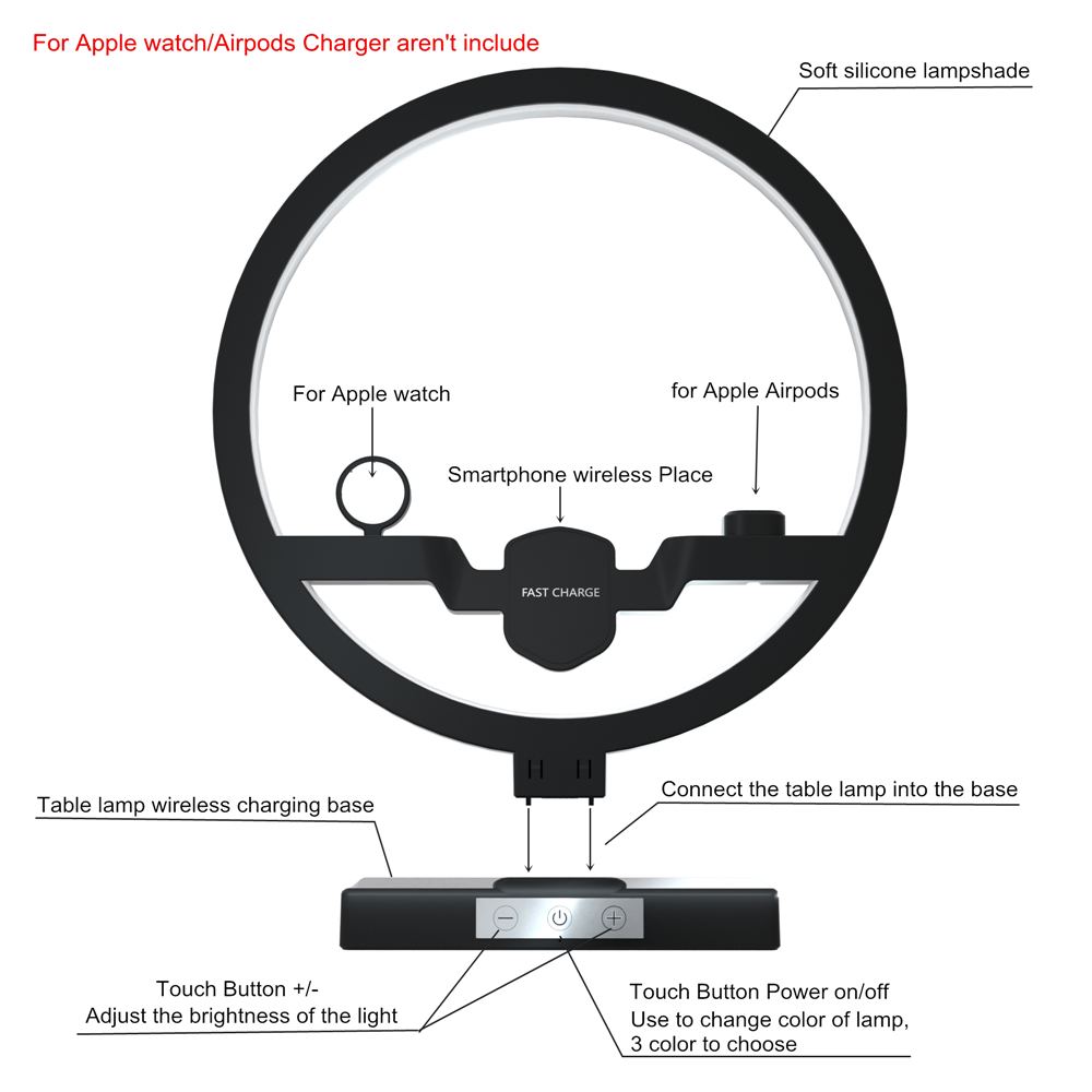Iphone dock station specification