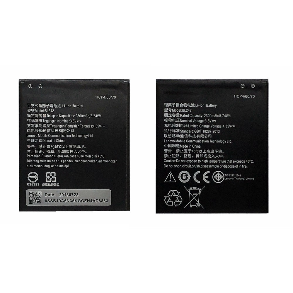 Suqy Battery <font><b>BL242</b></font> For <font><b>Lenovo</b></font> A6000 A3860 A3580 A3900 LeMeng k31-t3 K30T/W A6010 Plus Phone Bateria Accumulator Mobile Batteries image