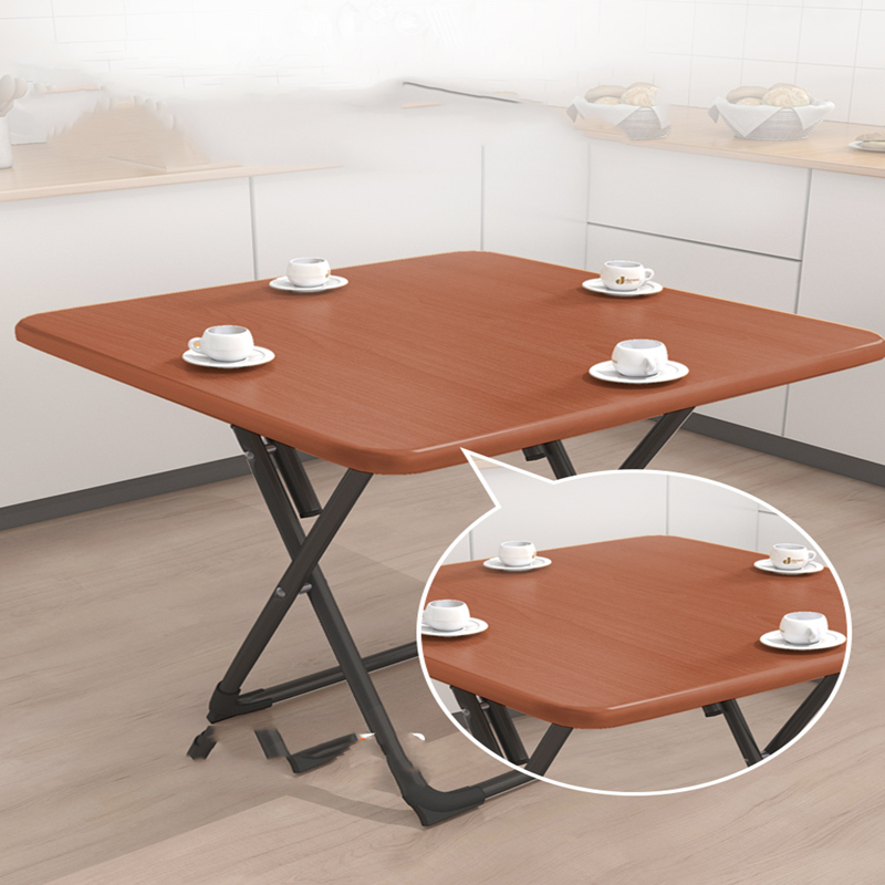 Folding Table Simple Small Square Table Household Folding Table Portable Dining Table Square Table Simple Table