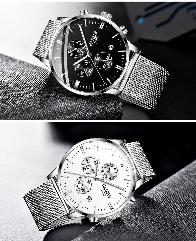 Hcecf4a8c1f494d9d9fbdcae86f4a84ddO HAIQIN 2019 Fashion Mechanical mens watches top brand luxury sport wristwatch men waterproof Quartz mens clock Relogio Masculino