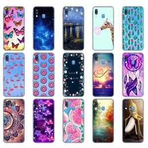 Чехол для Samsung A40, чехол, мягкие силиконовые чехлы для телефонов Samsung Galaxy A40, A 40, A405, A405F, Мультяшные Чехлы, сумки