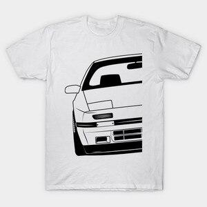 Men t-shirt Mazda RX7 FC3S Best Shirt Design tshirt Women t shirt(China)