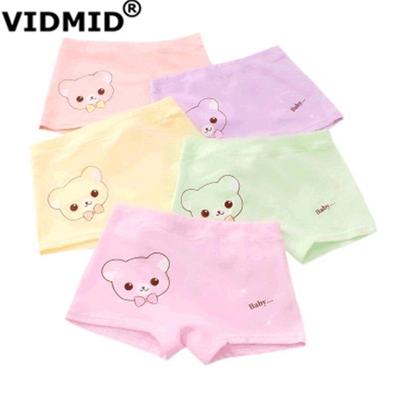 VIDMID Kids girls Panties Briefs Children Underwear Baby Girls Cotton Lovely Animal Design Panties Children Clothes 7130 01 1
