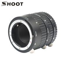 Bắn Tự Động Lấy Nét Ống Macro Bộ Nhẫn 12 20 36 Mm Vòng Cho Nikon D5600 D5300 D7200 DSLR AF AF S DX G Ống Kính Máy Ảnh