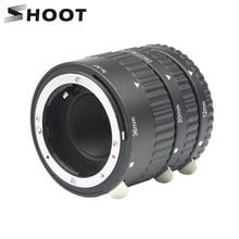 SHOOT Auto Focus Macro Extension Tube Ring Set 12 20 36mm Adapter Ring for Nikon D5600 D5300 D7200 DSLR AF AF S DX G Camera Lens