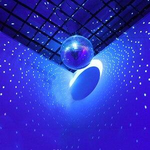 Image 5 - Thrisdar Dia25CM 30センチメートルガラスミラーディスコボールホームパーティーktvバーショップホリデークリスマス反射ディスコボールライト