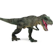 Kids Lifelike Walking Tyrannosaurus Rex Toy Dinosaur Model with Movable Jaw Toys for Kids Animal Collection Model