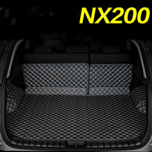Full Covered Waterproof Durable Non Slip Custom Car Boot Mats Trunk Carpets for Lexus NX200 NX200T heated trunk mat for lexus nx200 nx300 durable waterproof luggage mats