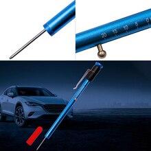 VECONOR pen type tire tread depth gauge brake shoe and pad wear guage Brake pad testing pen