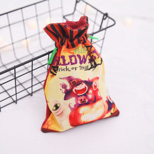 Halloween Candy Bag Cute Witch Doll Funny Gift Bags