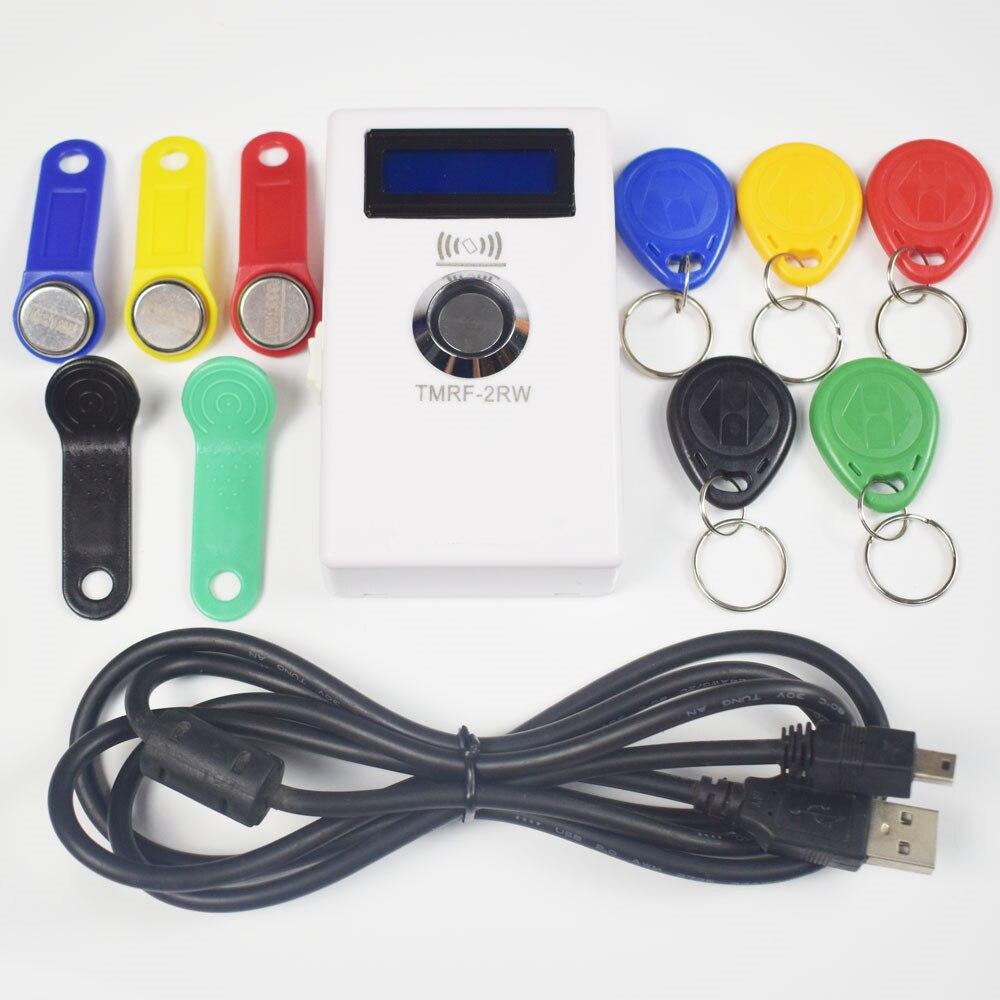 TM iButton Programmer DS1990A Duplicator Cloner Copier 125Khz RFID Reader Writer RW1990 Key Token RFID/TM Keyfob duplicator|Control Card Readers| - AliExpress