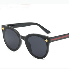 ASOUZ 2020 new fashion ladies bee sunglasses UV400 oval men