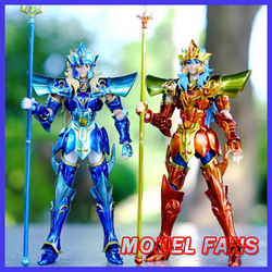 MODEL FANS IN-STOCK  JModel Saint Seiya cloth myth EX Poseidon PVC Action Figure Metal Armor Model Toys