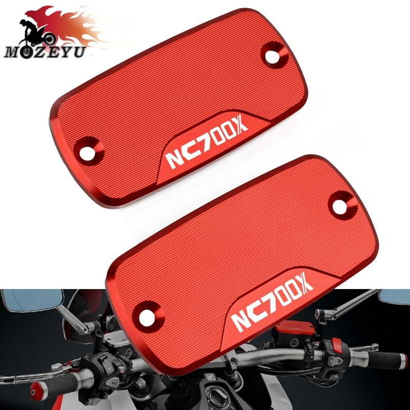 FOR <font><b>HONDA</b></font> NC700X <font><b>NC</b></font> <font><b>700X</b></font> 2015-2017 2016 All years CNC Aluminum Motorcycle Front Brake Clutch Cylinder Fluid Reservoir Cover Cap image