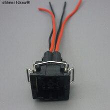 Shhworldsea 4pin carro ar condicionado sensor de pressão conectores plugue fio para passat b5 a4 s4 a6 a8 s8 357919754 8d0 959 482 b