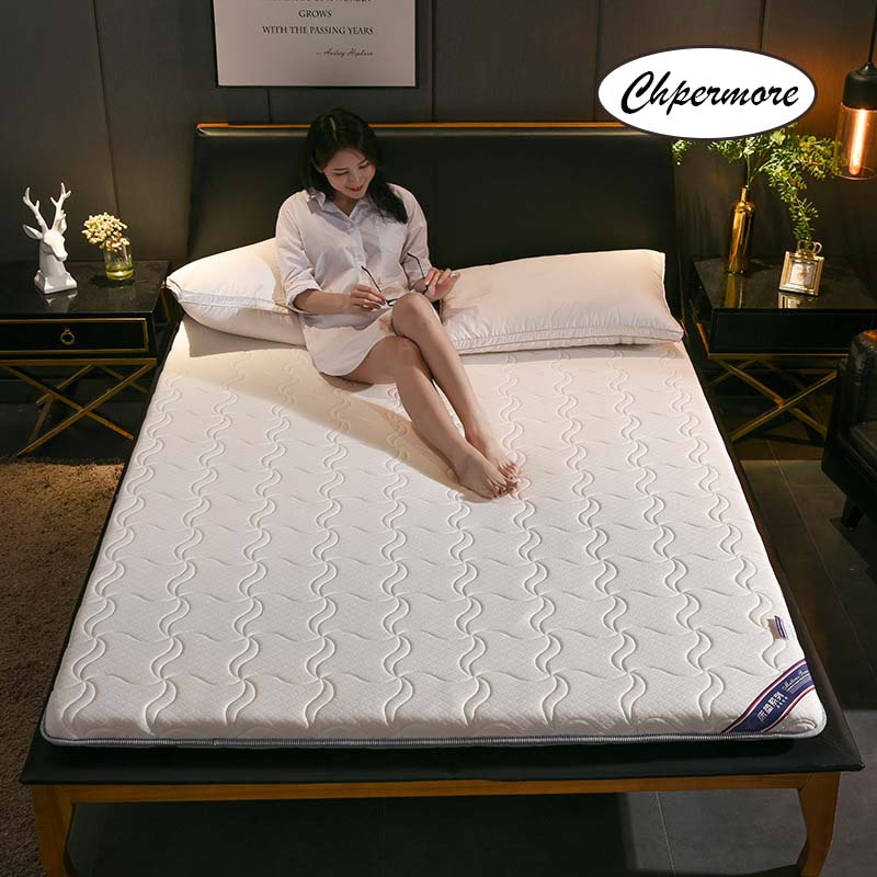 Chpermore Student Dormitory Mattress 1.8m Thickening Foldable Keep Warm Tatami Double Mattresses King Queen Size