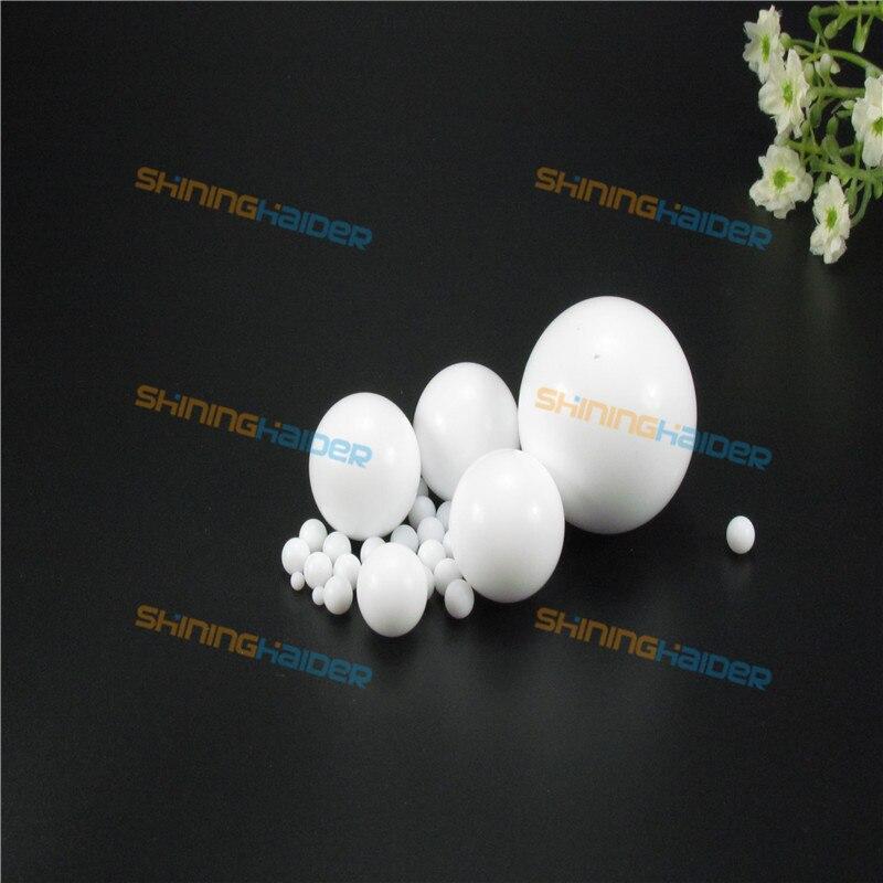 """PTFE Teflon Balls 5 Pcs Sphere White 1.0/"""" Dia"""