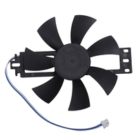 DC 18V Plastic Induction Cooker Brushless Cooling Fan