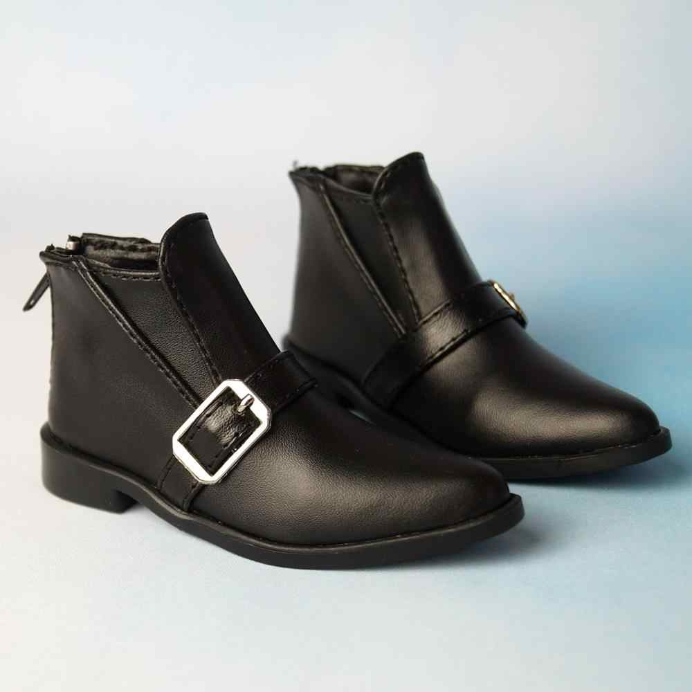 SD17 Flats Synthetic Leather Shoes Boots For 70cm Man BJD SD17 DOD Doll AOD AS