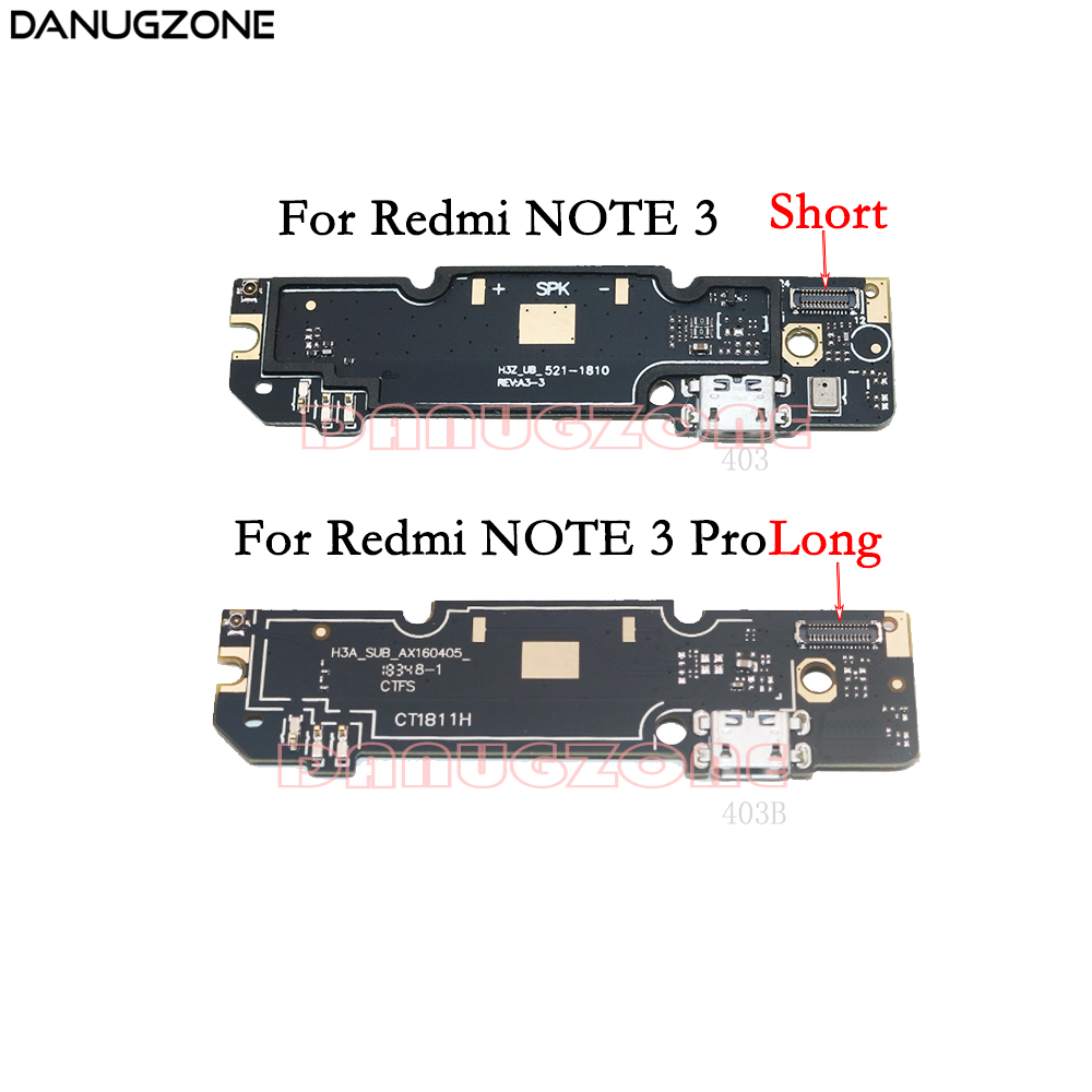 USB Charging Dock Port Socket Jack Plug Connector Charge Board Flex Cable For Xiaomi Redmi Note 3 PRO Note3