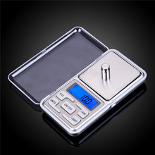 Digital Pocket Scale Kitchen Portable LCD Electronic Jewelry Gold Diamond Herb Balance Weight Weighting Scale 500g x 0.01g 0.1g