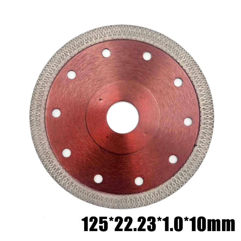 Super Thin Diamond Red Cutting Discs Circular Cutters For Angle Grinder Tile
