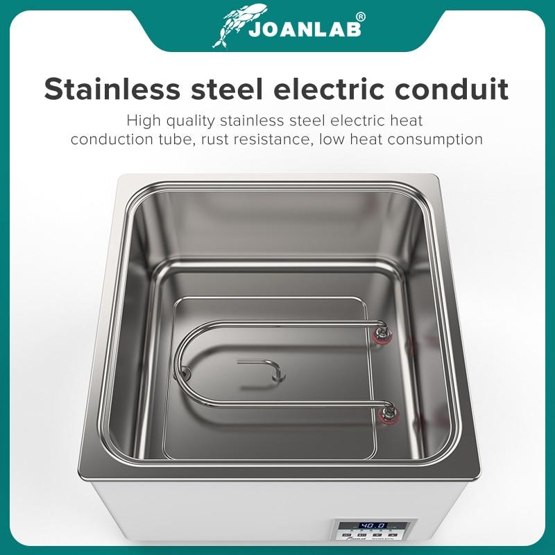 JOANLAB Laboratory Water Bath Constant Temperature LCD Digital Display Lab Equipment Thermostat Tank 6 4 2 1 Single Hole 220v 4