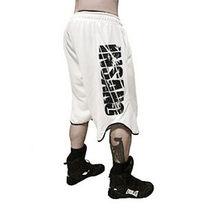 New Men Mesh Shorts Men's loose Trousers Fitness Bodybuilding Jogger Mens Brand durable Sweatpants Fitness Workout Shorts