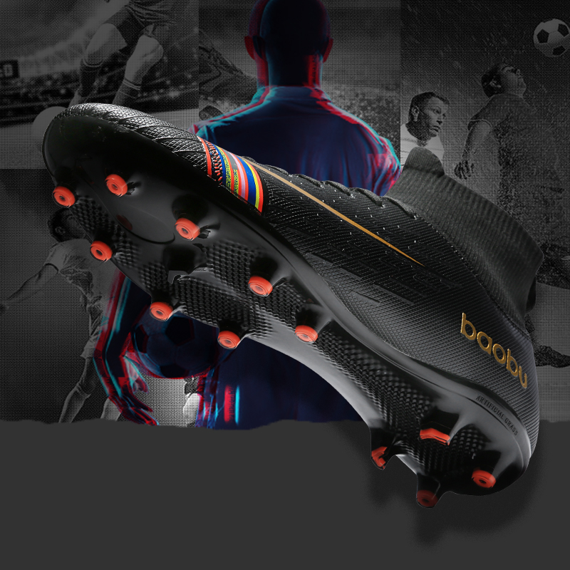 Football-Shoes Outdoor Breathable Men Mooyubei Professional