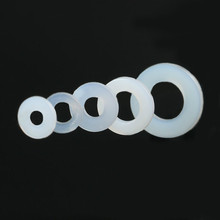 Flat Washer Nylon Gasket-Ring Seals Insulation Plated Plastic M4 100pcs M6 M3 DIN125