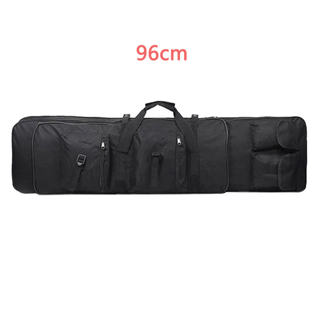 Military 85 96 100 120cm Rifle Backpack Gun Bag Case Double Rifle Airsoft Bag Shoulder Outdoor protable Hunting Accessories pack 4
