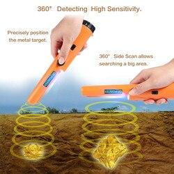 Detector de Metales subterráneo puntero de oro pin puntero gp finder todos los escáner equipo excavador probador detector de metales