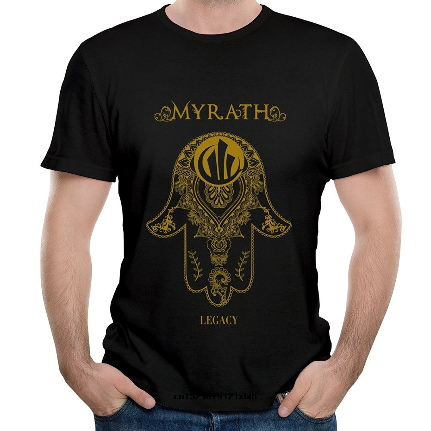 Men T Shirt Band Myrath Seven Sins Song Short Sleeve Tee Shirt Funny T-shirt Novelty Tshirt Women