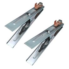 2Pcs/set 300A Metal Ground Cable Welding Clamp Clip Electrode Holder Welder Earth Cable Clamps