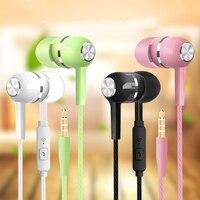 Mobil Wired Kopfhörer Sport Kopfhörer In Ohr 3,5 Sport Earbuds Headset Mic Musik Kopfhörer für Handys