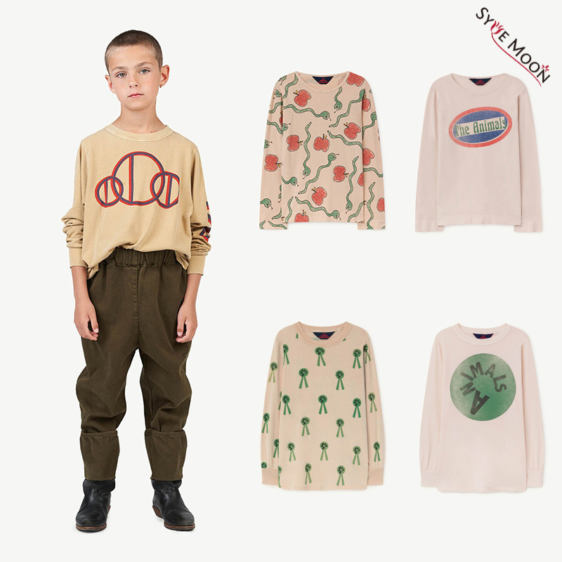 Children Tops T-Shirts Long-Sleeve Tao Autumn Girls Baby Boys Winter Brand-New Print