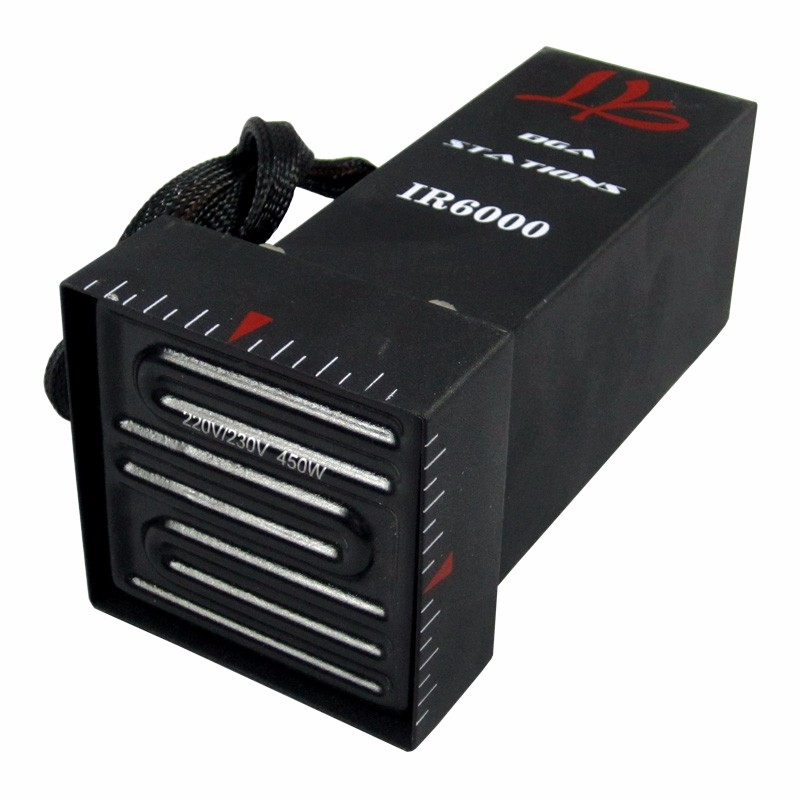 Tools : 220V Infrared upper heater top head for LY IR6000 BGA rework station with built-in 450W ceramic and cooling fan 7pins connector