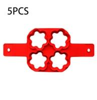 4 Hole Flowers-5PCS