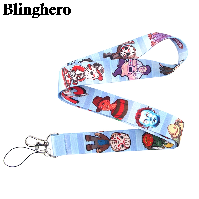 CA552 Wholesale 20pcs/lot Black friday Lanyard Neck Strap for key ID Card Cellphone Straps Badge Holder DIY Hanging Rope