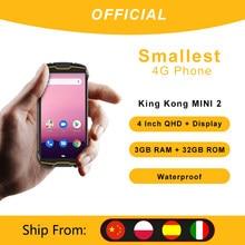Cubot KingKong MINI2 su geçirmez sağlam telefon 4