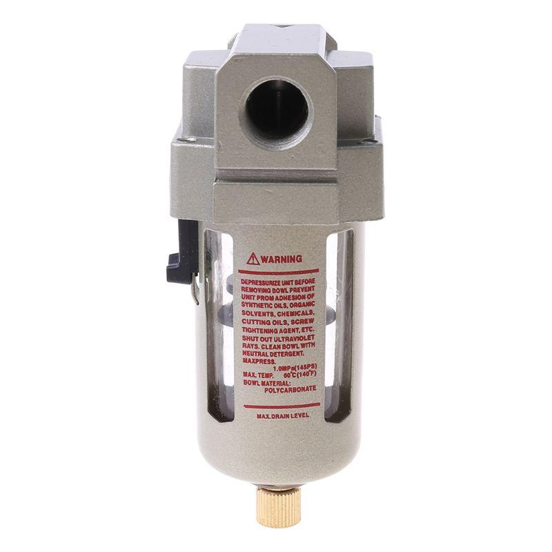 "Air Filter 3//8/"" AF3000-03 Air Compressor Inline Drain Filter Moisture Separator"