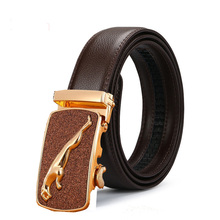 High Quality men's leather genuine belt