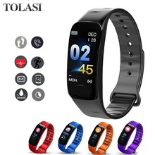 C1S Smart Wristband Bracelet Blood Pressure Fitness Sport Smartband Heart Rate Monitor Climbing